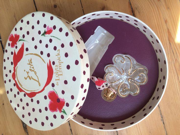 """Coffret """"La boite a chapeau"""" Si Lolita - EDT 50ml éclair parfumé 75ml (vide) - Lolita Lempicka"""