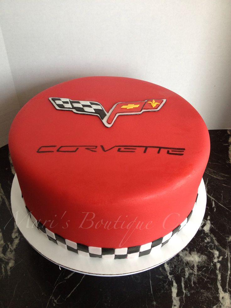 Corvette Cake - by Mari's Boutique Cakes