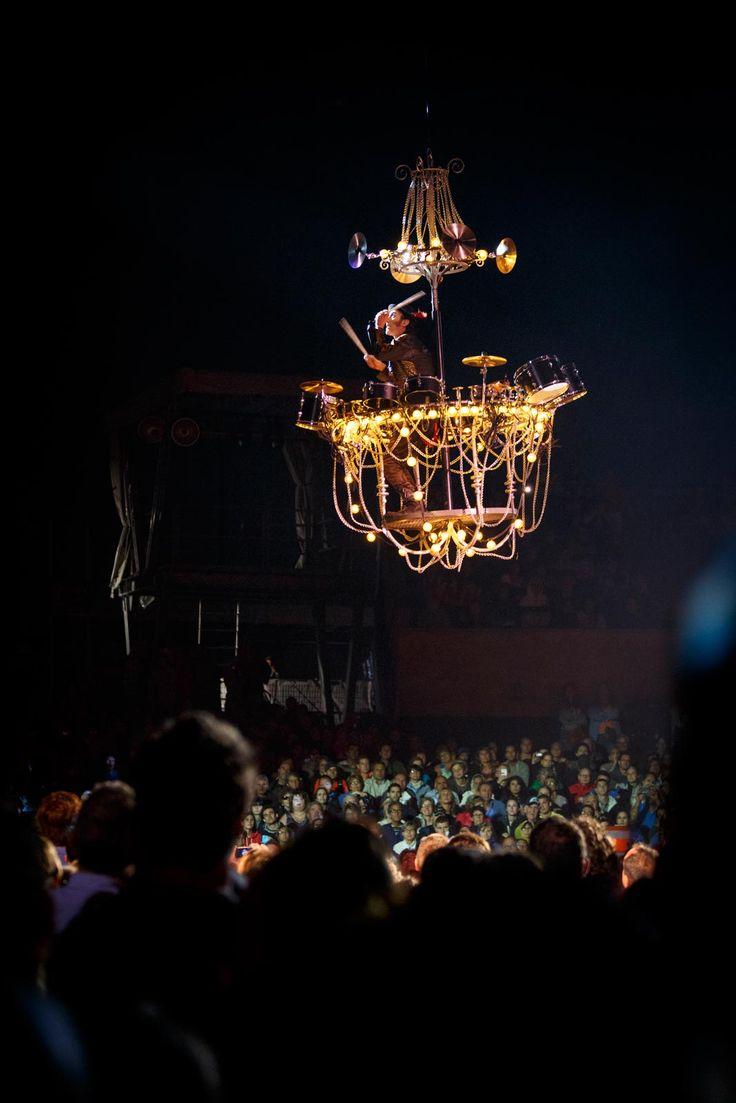 Le Hangar des Oubliés par le Cirque du Soleil.  Photographe: http://www.pagarneau.com   #Cirque #CirqueDuSoleil #HangarDesOubliés #Québec