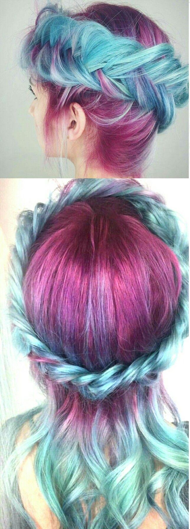 best p a s t e l l o c k s images on pinterest hairstyles