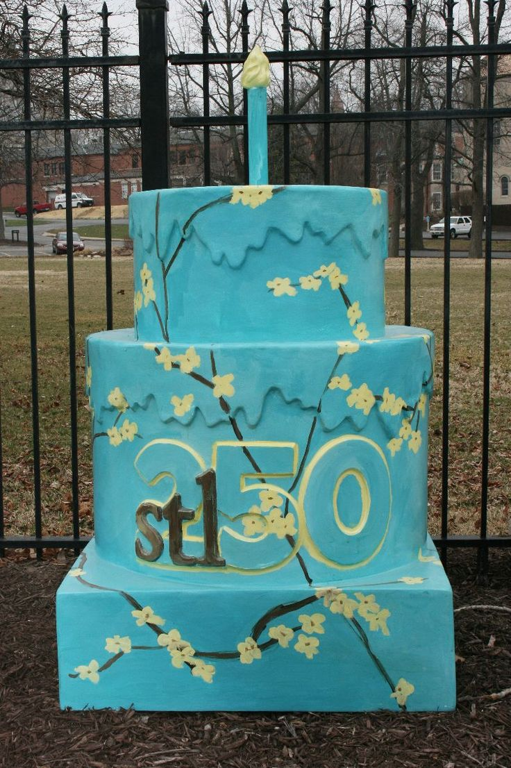 St Louis 250th Birthday Cakes