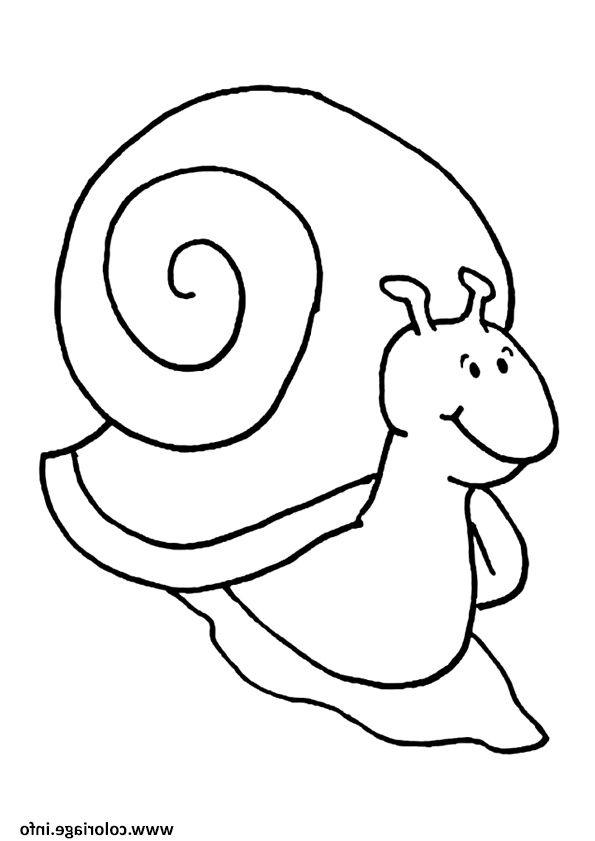 Coloriage A Imprimer Hugo L Escargot