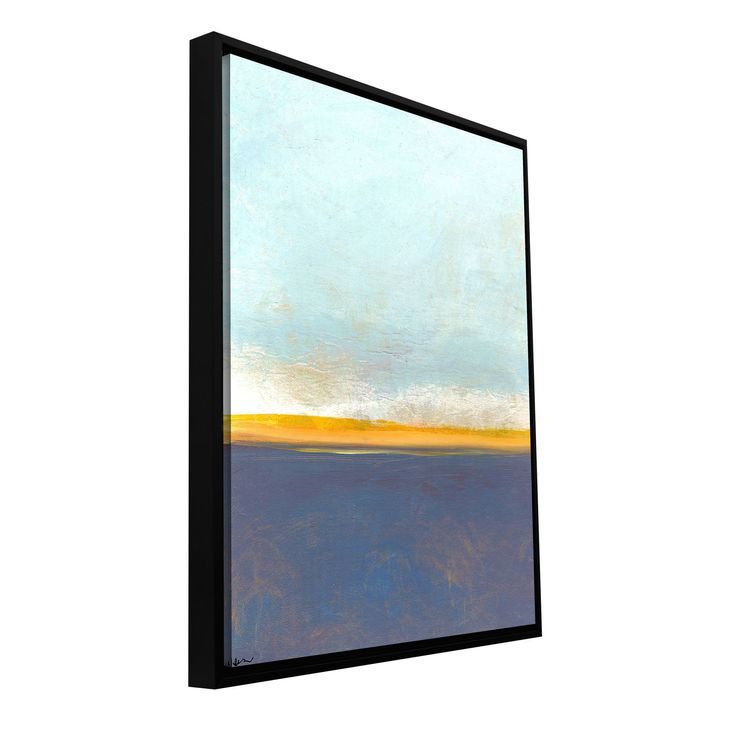 'Big Country Sky I' by Jan Weiss Floater Framed Graphic Art