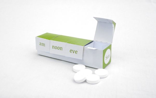 Medical Packaging by Andrew Whiteley, via Behance