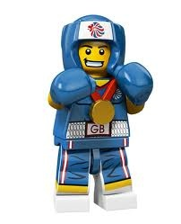Team GB Boxer.  Team GB Minifigures...Grab them while you can.
