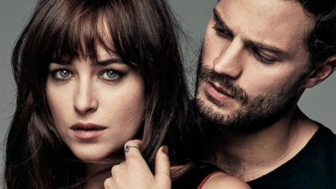 Dakota Johnson with Jamie Dorman Image
