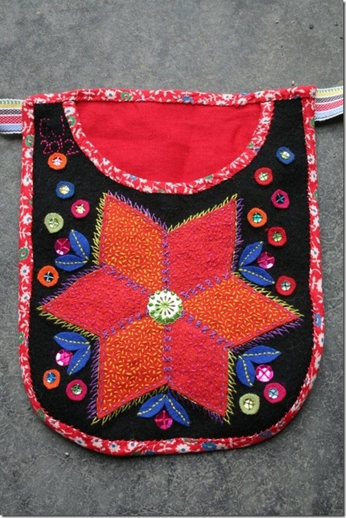 Tinsel embroidery, traditional swedish embroidery with my own touch   Grannlåtsbroderi