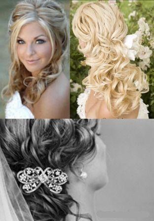Hair & make up: Hair Ideas, Big Curls, Wedding Hair, Long Hair, Girls Hairstyles, Cute Hair, Hair Style, Bride Hairstyles, Curly Hair