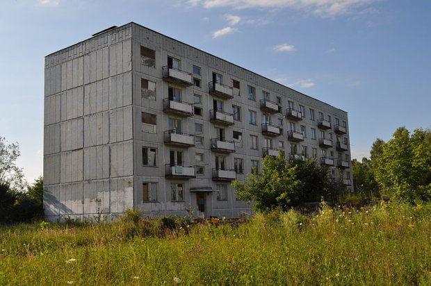 Opuszczone miasto Kłomino, Polska