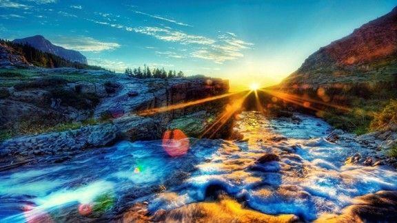 Günbatımı #wallpaper #sunrise #doğa #nature