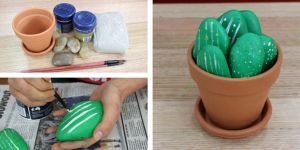 Make Mum a Rock Cactus