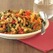 Fusilli tricolore pasta recept - Pasta gerechten   Recepten maken