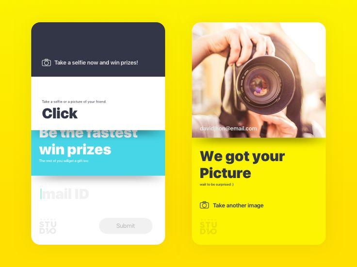 Click!  by Ranjith Alingal #Design Popular #Dribbble #shots