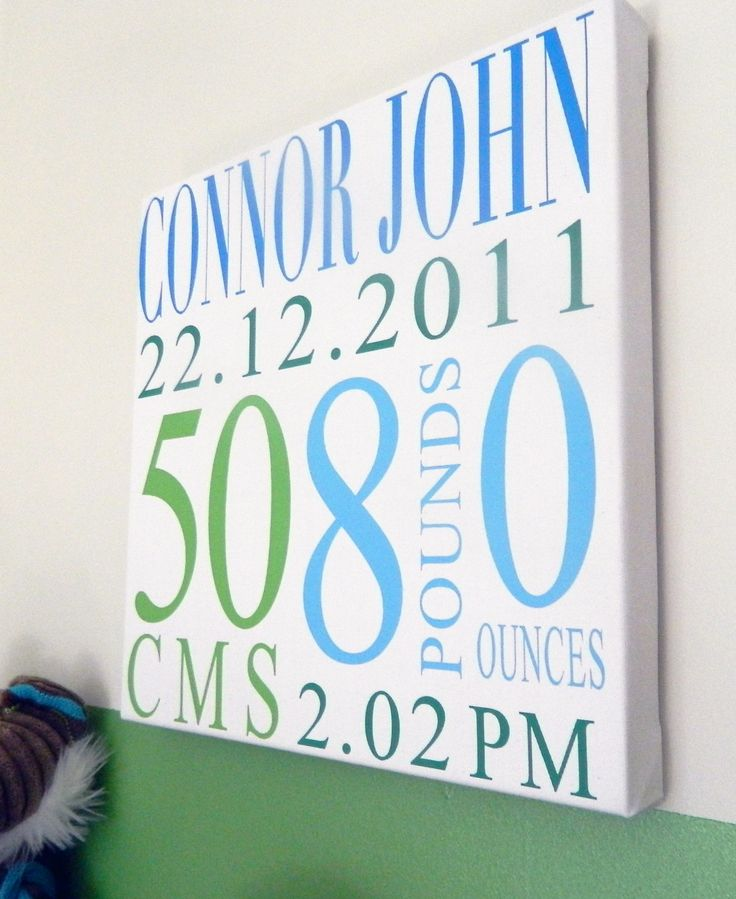 Awesome Birth Details on 30x30cm canvas!! www.offthebusdesigns.com