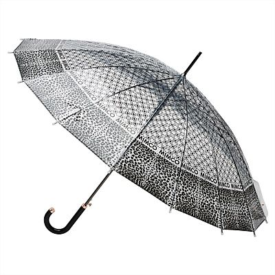 #mimcomuse a girl must look her best, in sunshine or rain and the leopard print long stem umbrella certainly is the most stylish way to prevent frizzy hair and running mascara