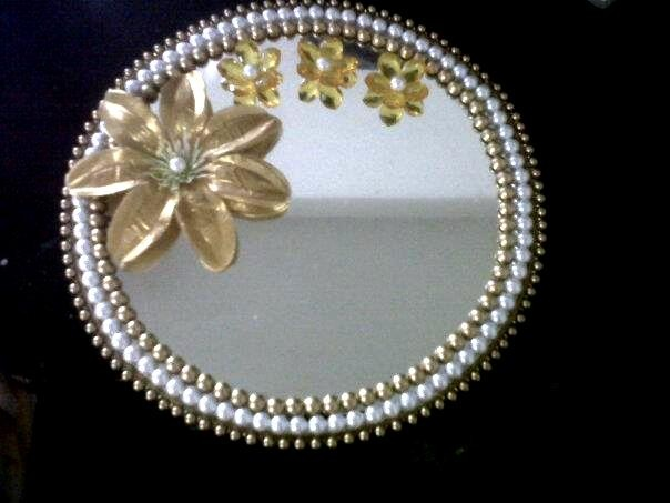 Pooja thali / engagement ring plate