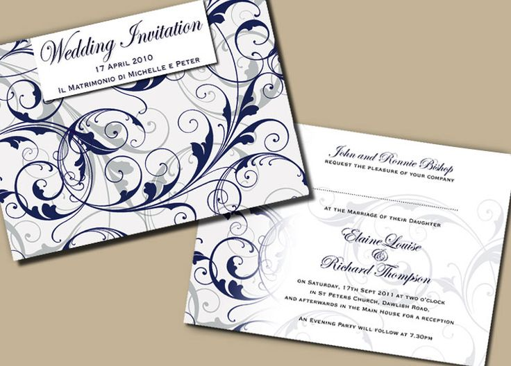 42 best modern wedding invitations images on pinterest invites modern wedding invitation templates shower backgrounds peacock 28 best free home design idea inspiration stopboris Images