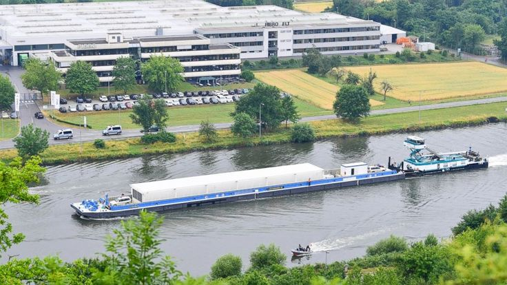 A transport of three containers carrying nuclear waste is being shipped on the Neckar river in southwestern Germany with heavy police protection.  The shipment of Castor containers on Wednesday is the first transport of highly radioactive material on a river in Germany. Police were protecting... - #Containers, #Germany, #Nuclear, #River, #Shipped, #TopStories, #Waste