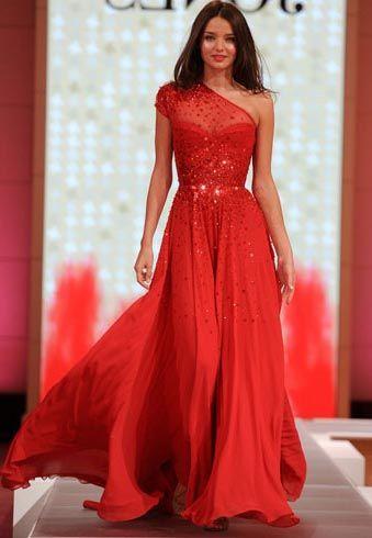 vestido vermelho para noivas