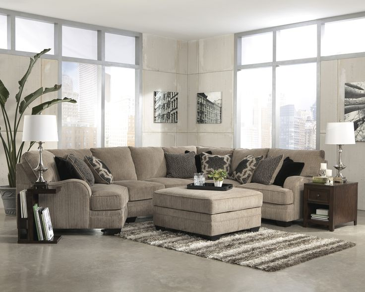Katisha   Platinum Stationary Living Room Group By Signature Design By Ashley  Furniture