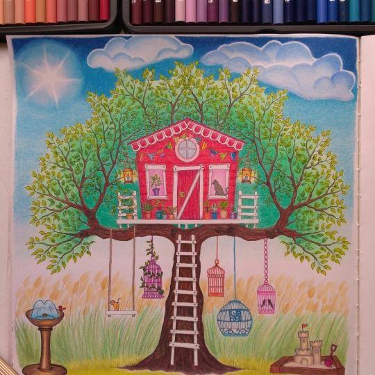 Colouring Gallery Color Pencil ArtColoured PencilsJohanna Basford Secret GardenColoring BooksColouringThailandEverythingTreehouseVintage Coloring Books