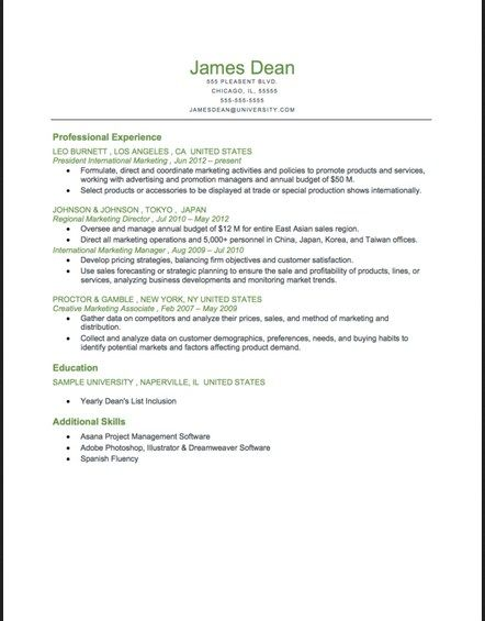 find this pin and more on job resume samples reverse chronological