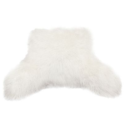 Mongolian Fur Backrest - BedBathandBeyond.com