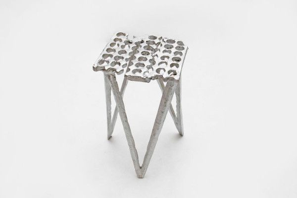 Aluminum Cans Become Stools by Studio Swine in home furnishings  Category