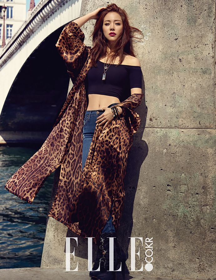 Han Ji Min Is A Jaw-Dropping Goddess In Elle Korea's October Issue | Couch Kimchi