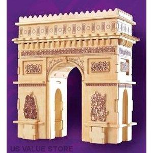 Arc de Triomphe 3D puzzle.  135 pieces.