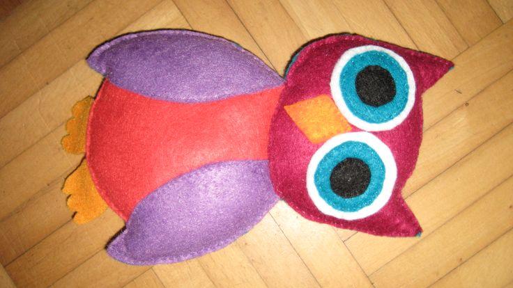 Owl cuddle toy / uil knuffel