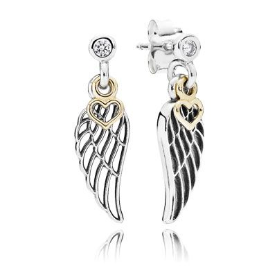 pandora angel wing charm