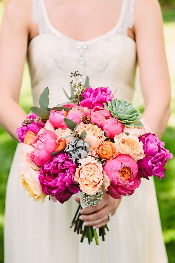 Peach Garden Rose Bouquet 175 best wedding bouquets images on pinterest | bridal bouquets