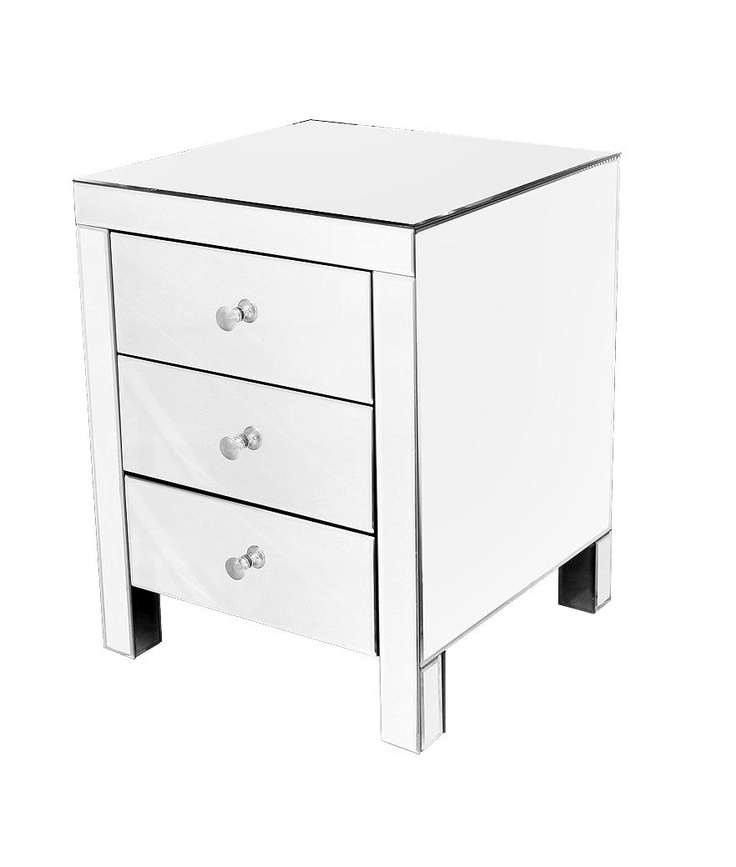 17 best images about bedside tables on pinterest for Mirror bedside cabinets