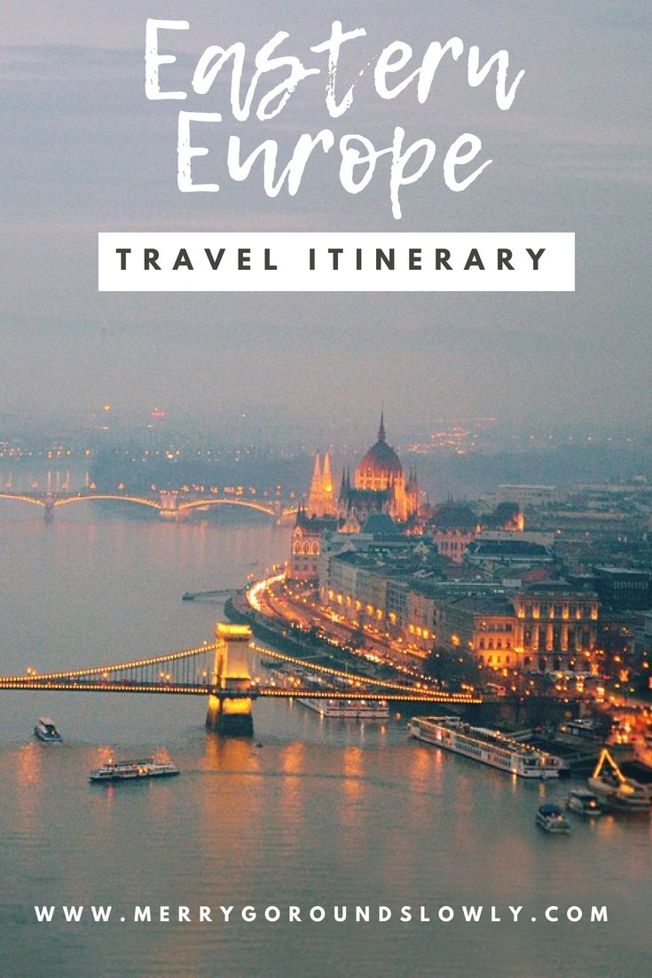 Your Eastern Europe Itinerary: 2 Weeks in 6 Countries