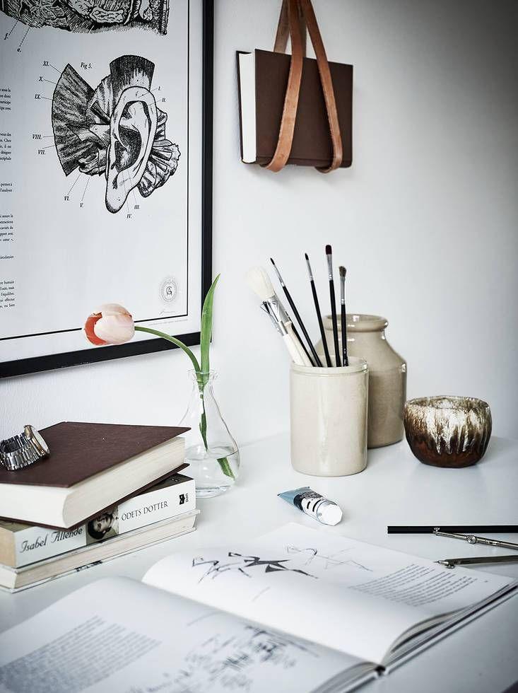Small workspace - via Coco Lapine Design