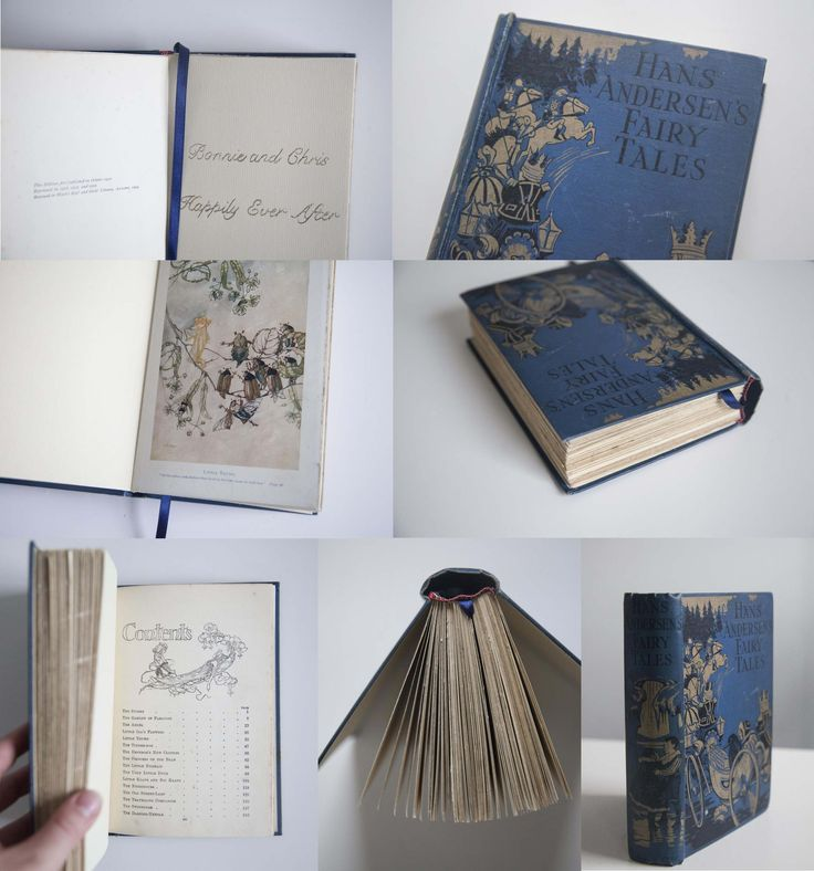 Fairy Tale Vintage Wedding guest book - Hand embossed and hand bound. #weddingguestbook #guestbook #bespokeguestbook #wedding #bespokewedding #vintageguestbook #handmade #handmadeguestbook