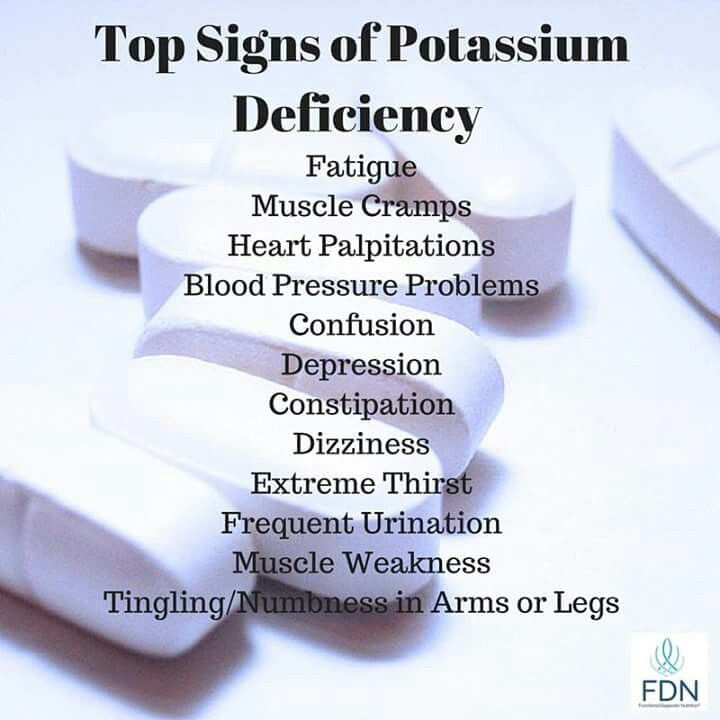 Have Vitamin Deficiency? You need Prodigy-5 now! Potassium deficiency