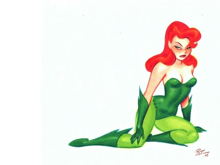 images of poison ivy gotham | Gotham Girls Poison Ivy