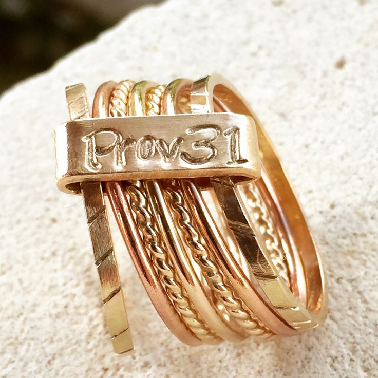 7 Day Ring Seven Day Ring Portuguese Ring 7 Blessings