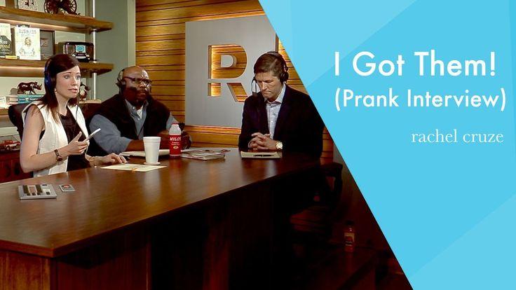 I Got Them! (Prank Interview with Chris Hogan and Chris Brown)