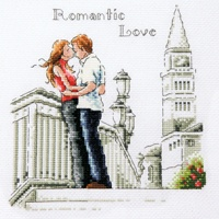Romantic Love Pattern by SODA Stitch (SR-B62)