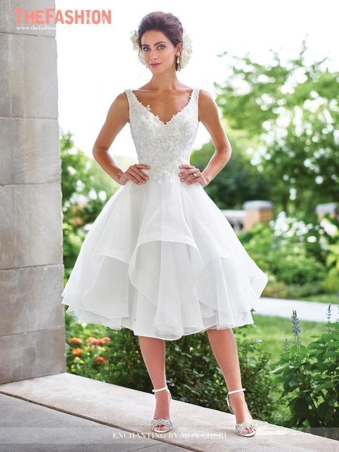 157 best Short Wedding Gowns images on Pinterest