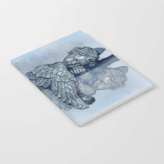 GRAB A GIFT FOR MOM - 20% OFF + FREE SHIPPING ON EVERYTHING - SALE ENDS TONIGHT AT MIDNIGHT PT! #angel #sleeping #reflection #art- #notebook #sale-Our notebooks feature wraparound artwork from the world's best artists, with an anti-scuff laminate cover. Unleash your creativy on 52 pages of high quality 70lb text paper - minimal show-through even when you use heavy ink! Available in lined and unlined versions.