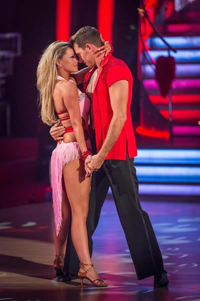 Ashley Taylor Dawson and Ola Jordan perform in Week 3 of Strictly Come Dancing 2013