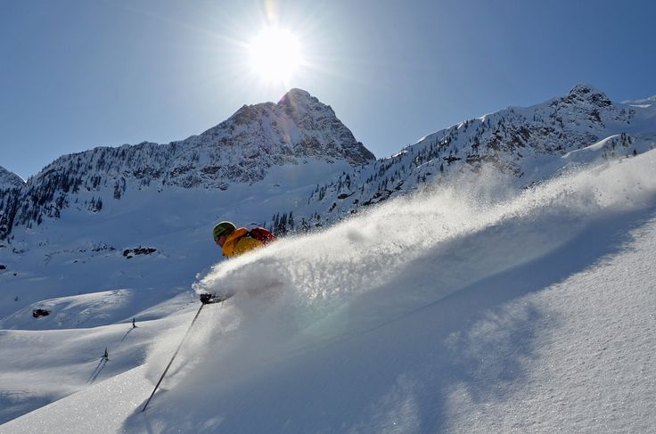 Heli skiing in Canada with CMH!