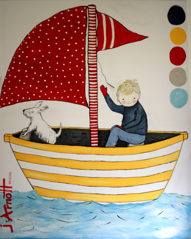 J.Arnott little boy in boat x