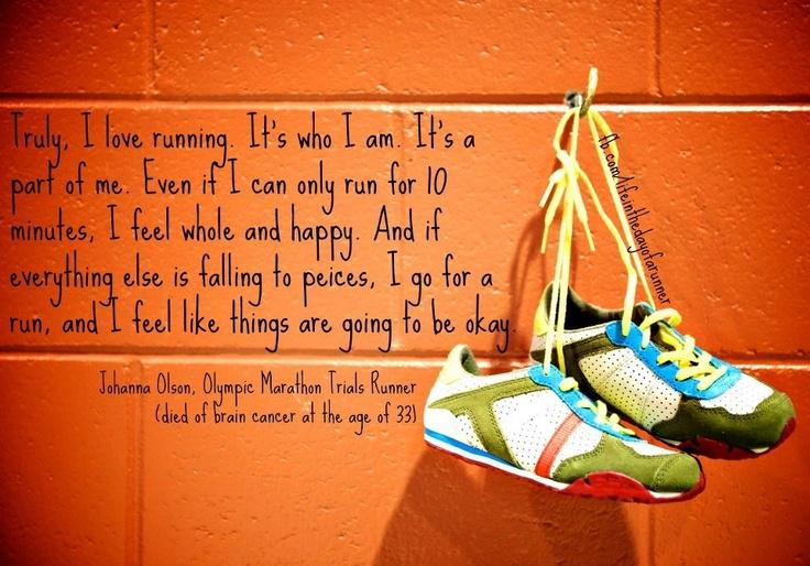 Truly I love Running