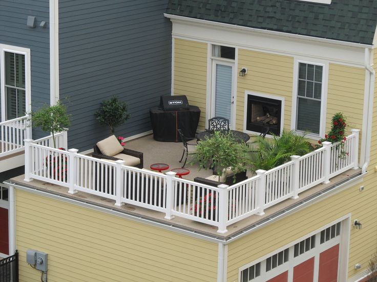 Best 25 rooftop deck ideas on pinterest terrace meaning for Flat roof garage with deck plans