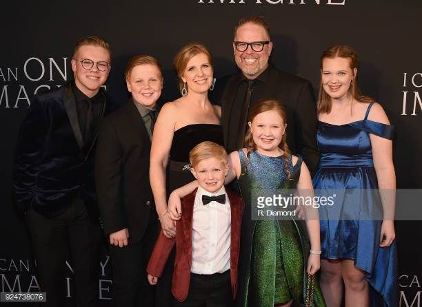 Bart Shannon Millard And Family Mercyme With Images